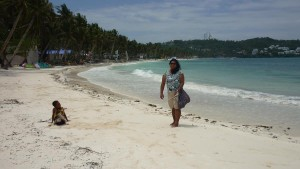 Bulabog Beach - southern part