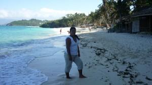 Ilig-Iligan Beach - going north