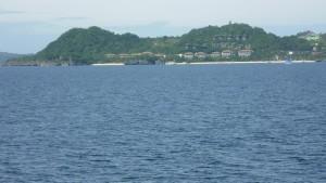 Punta Bunga Beach visible here
