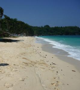 We were moving toward northern part of Ilig-Iligan Beach