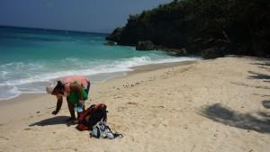 Ilig-Iligan Beach - southern end
