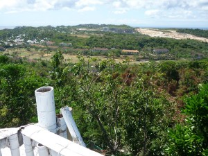 Mt. Luho : facing north, toward Barangay Yapak