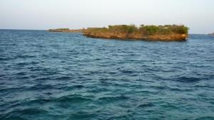Crocodile Island - farther on the left