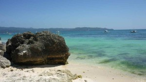 Diniwid Beach - facing southward; Panay Island visible here