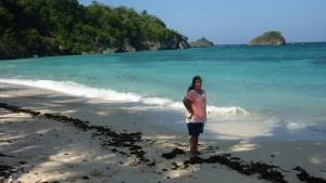 Northern end of Ilig-Iligan Beach