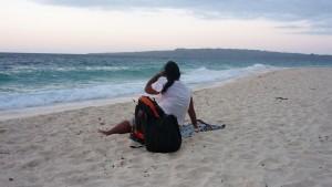 View on Carabao Island from Puka Beach